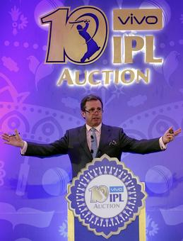 PHOTOS: How the IPL Auction panned out