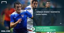Morris fulfills 'childhood dream' of signing with Sounders