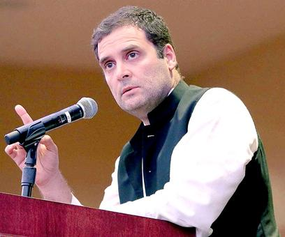 Rahul reminds PM Modi of 'na khaoonga, na khaane doonga' remark