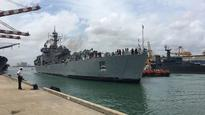 Sri Lanka floods: Indian naval ship Shardul reaches Colombo with relief material, medical team