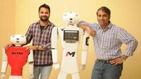 Indian robot Mitra made in China steals the show at IT event