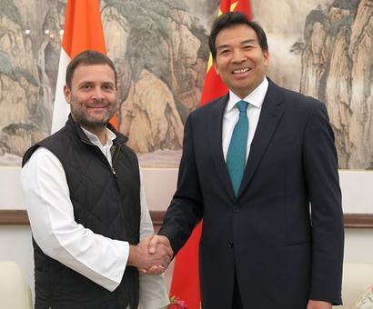 Sushma slams Rahul for meeting Chinese envoy over Doklam standoff