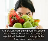 8 Rules of Ayurveda That are a Must Follow After Having Food