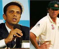 Dravid termed McGrath as absolutely brilliant during his playing days