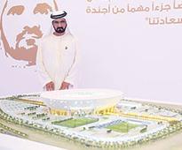 VP reviews design of Dhs3b stadium