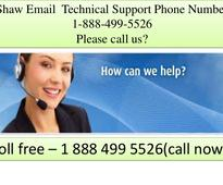 Shaw email 1 888 499 5526 Tech Support Number