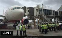 Air India Plane About To Take Off Hits Aerobridge At Mumbai Airport