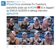 Rio 2016: Chinese Olympic darling has period, wins hearts