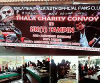 Thala Ajith's fans pitch in for a cause in Malaysia