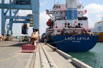 Turkish aid ship arrives at Israeli seaport