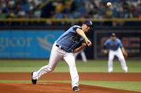 Jake Odorizzi loses no-hitter against the Yankees in the seventh inning
