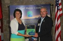 Elaine Jones receives Marine Environment's Visionary Award