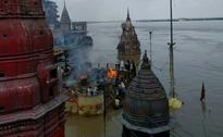 103-Year-Old Man Cremated On Rooftop In Flooded Varanasi