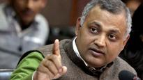 Somnath Bharti would assault his wife, cops to Delhi HC