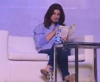 Watch: Twinkle Khanna speaks at TIMES Litfest