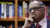 Now we can all sleep better knowing Infosys is under leadership of Nandan Nilekani: Narayana Murthy