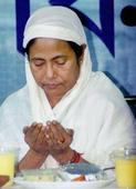 Political diplomacy keeps Mamata Banerjee shuffling between iftar parties