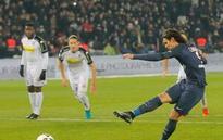 Cavani enjoying spotlight at PSG with Ibrahimovic gone