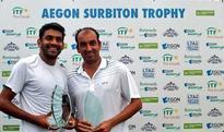 Vishnu Vardhan clinches doubles title at Futures Tennis Tournament