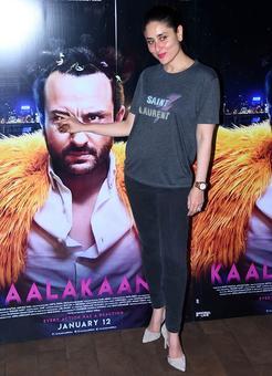Kareena watches Kaalakaandi with Saif, Soha