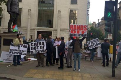 'Hands off Balochistan': Baloch, Sindhi activists stage protest against Pak, China in UK