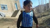 Afghan boy to meet Messi?