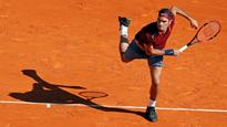 Roger Federer makes winning return from injury, at the Monte Carlo Open