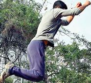 Hop, skip and jump to Chennai parkour!