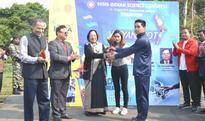 Governor Najma Heptulla flagged off Vigyan Jyoti Rally