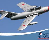 Classic Jet Showcase at RAF Cosford Air Show