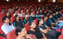 A B Ibrahim inaugurates world population day programme