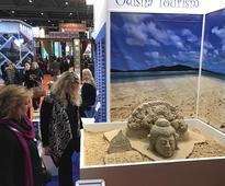 Odisha sand artist Sudarshan Patnaik's sand art attracts visitors in WTM ,London