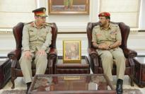Egypt defence official received