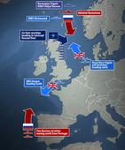 Vladimir Putin sends two more Russian warships to split Royal Navy in the North Sea
