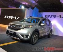 Honda BR-V India launch price starts from INR 8.75 lakh