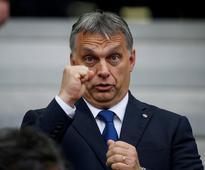 Hungary PM becomes first EU leader to endorse ... Hungarian Prime Minister Viktor Orban (REUTERS/Sergio Perez/File Photo) ...