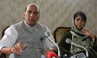 Situation in J-K will change in 3 months, says Mehbooba after Rajnath meet