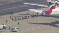 British Airways air scare at Newark Airport after man threatens to shoot up terminal