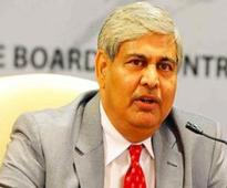 Is Shashank Manohar quitting as BCCI president?
