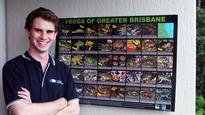 Science graduate leaps into world of frogs