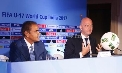 India are the world champions of passion: FIFA boss Infantino