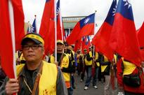 Thousands of Taiwanese protest against pension reform plan