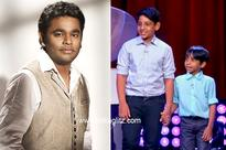 AR Rahman's students rock American Television