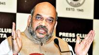 Congress to blame for Kashmir's woes: Amit Shah