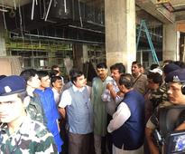 Nitin Gadkari visits Ranip Bus Port in Ahmedabad
