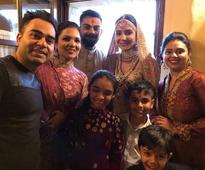 FIRST PHOTOS: Anushka Sharma and Virat Kohli look royal in their traditional outfits in the first photos from their wedding in Italy!