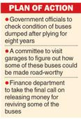 Govt panel to scan 'condemned' buses