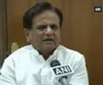 Ahmed Patel to Centre: Diluting Forest Rights Act not in interest of Adivasis