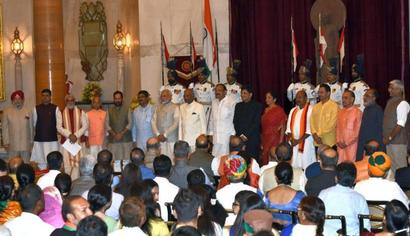 9 new ministers join Modi government