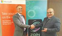 Zain Group wins Microsoft Azure ExpressRoute Program status  Zain subsidiary Mada among largest Net providers in ME